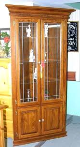 cherry corner curio cabinet ideas corner lighted curio cabinet for corner china cabinet cherry