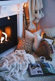 Living Room Setup With Fireplace by Best 25 Cozy Fireplace Ideas On Pinterest Cosy Winter Winter