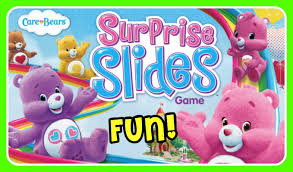 care bears surprise slides game care bears game cheer bear