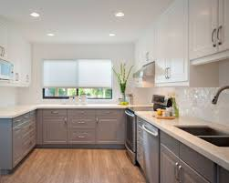 grey kitchens ideas two toned kitchen cabinets coredesign interiors