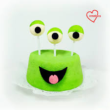 Halloween Monster Cakes by Loving Creations For You U0027green Monster U0027 Pandan Chiffon Cake For