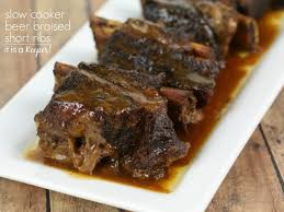 slow cooker beer braised short ribs it is a keeper