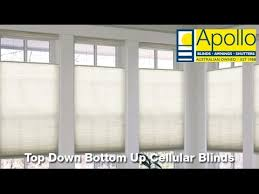 Top Down Bottom Up Cellular Blinds Top Down Bottom Up Cellular Blinds Apollo Blinds Youtube