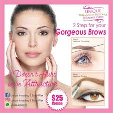 Where To Get Your Eyebrows Threaded Unique Threading And Body Wax Home Facebook