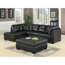 Sectional Sofas For Less Black Leather Sectional Sofas Thedailygraff