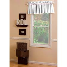pink and gray damask window valance rod pocket carousel designs
