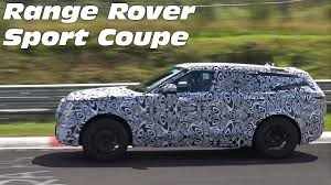 2018 land rover range rover sport coupe spied testing on the