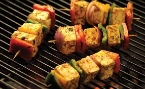 Cooking Cottage Cheese by Weberindia Com Recipes Cottage Cheese U0026 Pepper Skewers