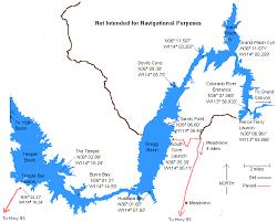 lake mead map gregg basin map