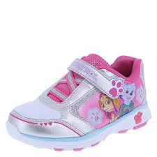 paw patrol light up sneakers paw patrol paw girls light up shoe payless