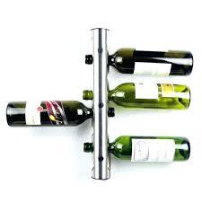Metal Bakers Rack With Wine Storage Bakers Wine Rack Wrought Iron U2013 Easyvbapps Com