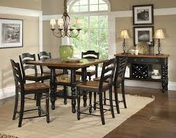 dining room lovely modern dining table black dining room sets