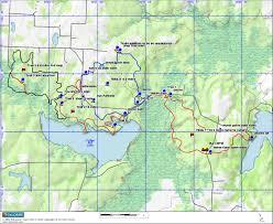 Ouachita Mountains Map Equestrian Trails