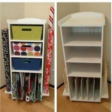 present wrapping station another of candy spelling s gift wrap rooms she had 3 in that