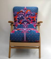 Heals Armchair 1950s Vintage Reclining Cocktail Chair Vintage Heals