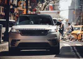 new land rover velar goulding drives new range rover velar in new york