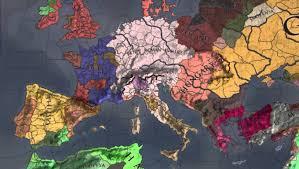 Map Of Medieval Europe Timelapse Medieval Europe Historical Changes Crusader Kings Ii