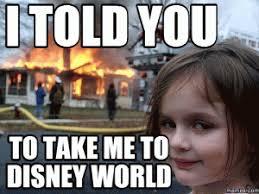 Disney World Meme - disaster girl jokes kappit