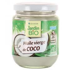 cuisine huile de coco vierge de coco bio