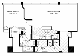 Two Bedroom Floor Plans One Bath Floor Plans Plymouth Harbor