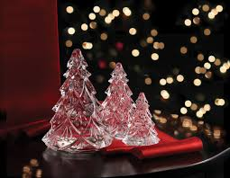 waterford crystal medium christmas crystal tree crystal sculpture
