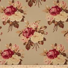 tanya whelan petal home decor sateen large antique roses parchment