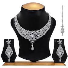 diamond sets images austrian diamond necklace set by festives ethnics necklace