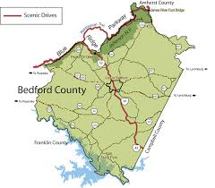 virginia state parks map area maps visit bedford virginia