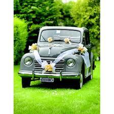 kit deco voiture mariage kit décoration voiture mariage blanc achat vente décoration de