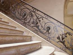 Decorative Railing Interior Wrought Iron Stair Railings For Creating Awesome Looking Interior