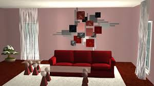 wanddekoration wohnzimmer wohndesign