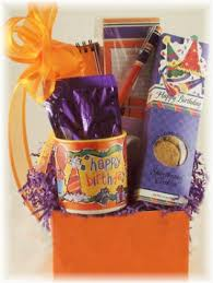 birthday baskets for him happy birthday gifts for him or
