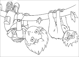 Diego Coloring Pages 360coloringpages Go Diego Go Coloring Pages