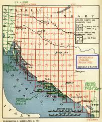 Yugoslavia Map Topo Liste Kartenabteilung Staatsbibliothek Zu Berlin