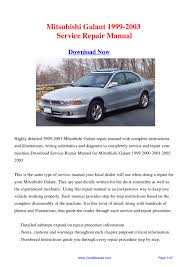 2003 mitsubishi galant owners manual download entirelypatton cf