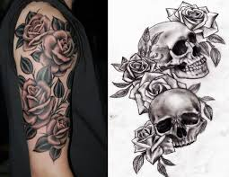 roses arm sleeve tattoo 113 best misc tattoos images on pinterest drawings skull