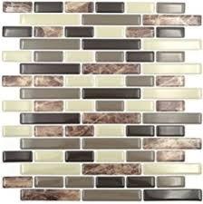 Stick On Kitchen Backsplash by Amazon Com Peel U0026 Stick Tiles 15 Ft Backsplash Kit Rome Home