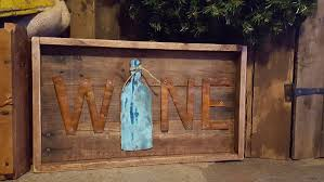 Metal Signs Home Decor by Rustic Wall Decor Wine Decor Pallet Board Sign Wooden Sign