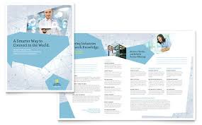 technical brochure template technology brochures templates designs