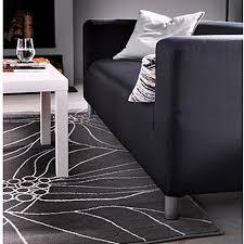 Modern Rugs Ikea Ikea Gislev Area Rug Low Pile Modern Carpet 608938304285 Gray