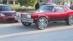 Muscle Car Rims - cars on big rims sliding thru