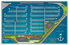 Racine Wisconsin Map by Marina Slip Map Reefpoint Marina