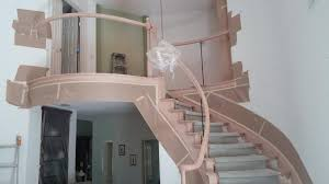 Handrail Designs For Stairs Iron U0026 Wood Stair Railing Contractors Laguna Niguel Ca
