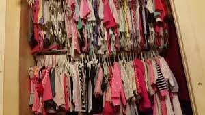 kimberly closet tour tips u0026 ideas how to organize baby clothes