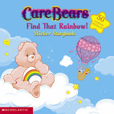 rainbow care bears sticker book 1 sonia sander