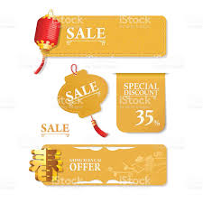 Chinese Design by Chinese New Year Label Design Stock Vector Art 522624383 Istock