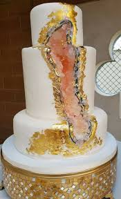 i ate geode wedding cake food