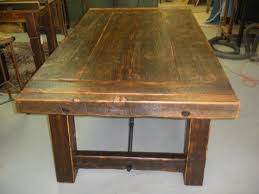 Rustic Wood Dining Room Table by Best 25 Barnwood Dining Table Ideas Only On Pinterest Kitchen