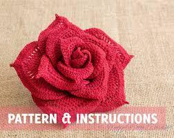 shop crochet flower pattern on wanelo