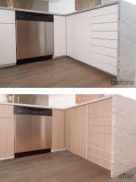 Sektion Kitchen Cabinets Before During After Panyling An Ikea Sektion Kitchen